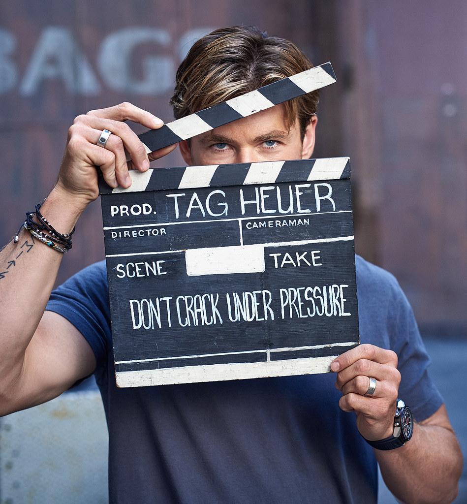 Крис Хемсворт — Фотосессия для «TAG Heuer» 2015 – 3
