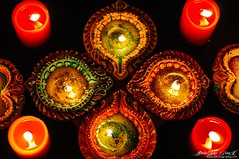 Diwali Lighting with Diya ...