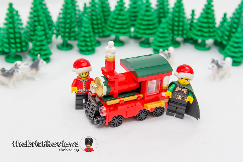 ThebrickReview: Christmas Train - 40138 - Limited Edition 2015 23610370742_297c4a811d_b