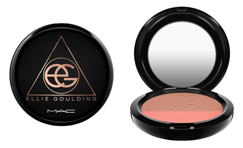 MAC x ELLIE GOULDING Powder Blush Duo I'll Hold My Breath copy