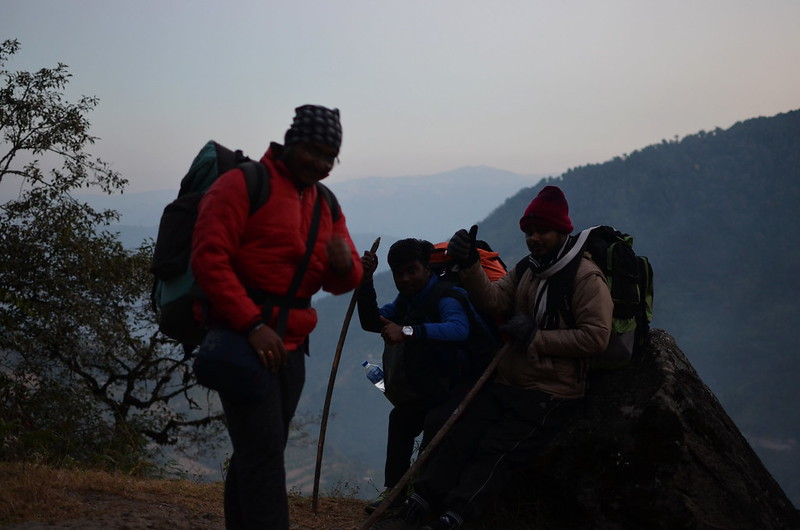 I messed it I know- but its still a prime moment of our fatigued moments on way to Srikhola