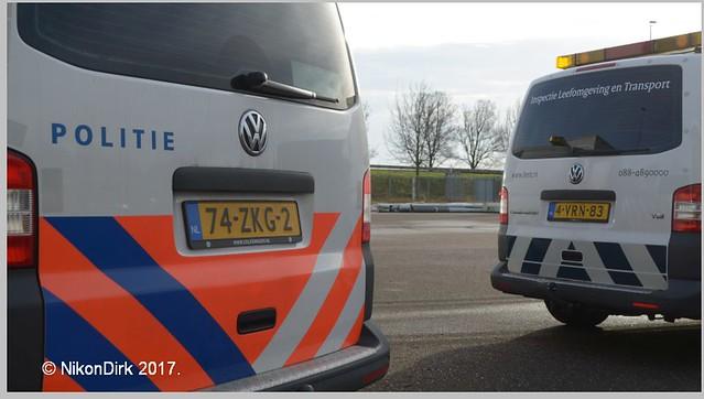 Dutch Police and ILenT VW.
