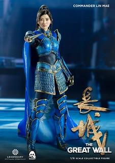 threezero 長城【鶴軍將領:林梅】The Great Wall Commander Lin Mae 1/6 比例人偶作品