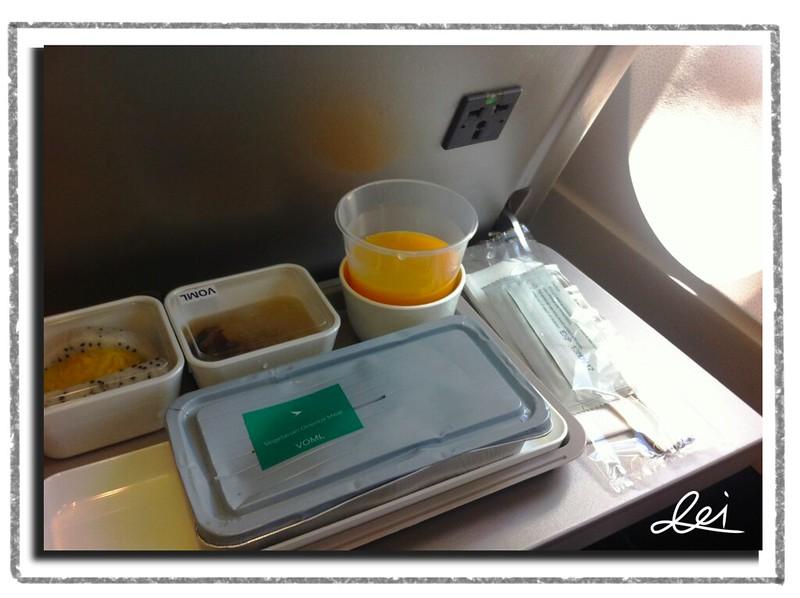 0820飛機上午餐