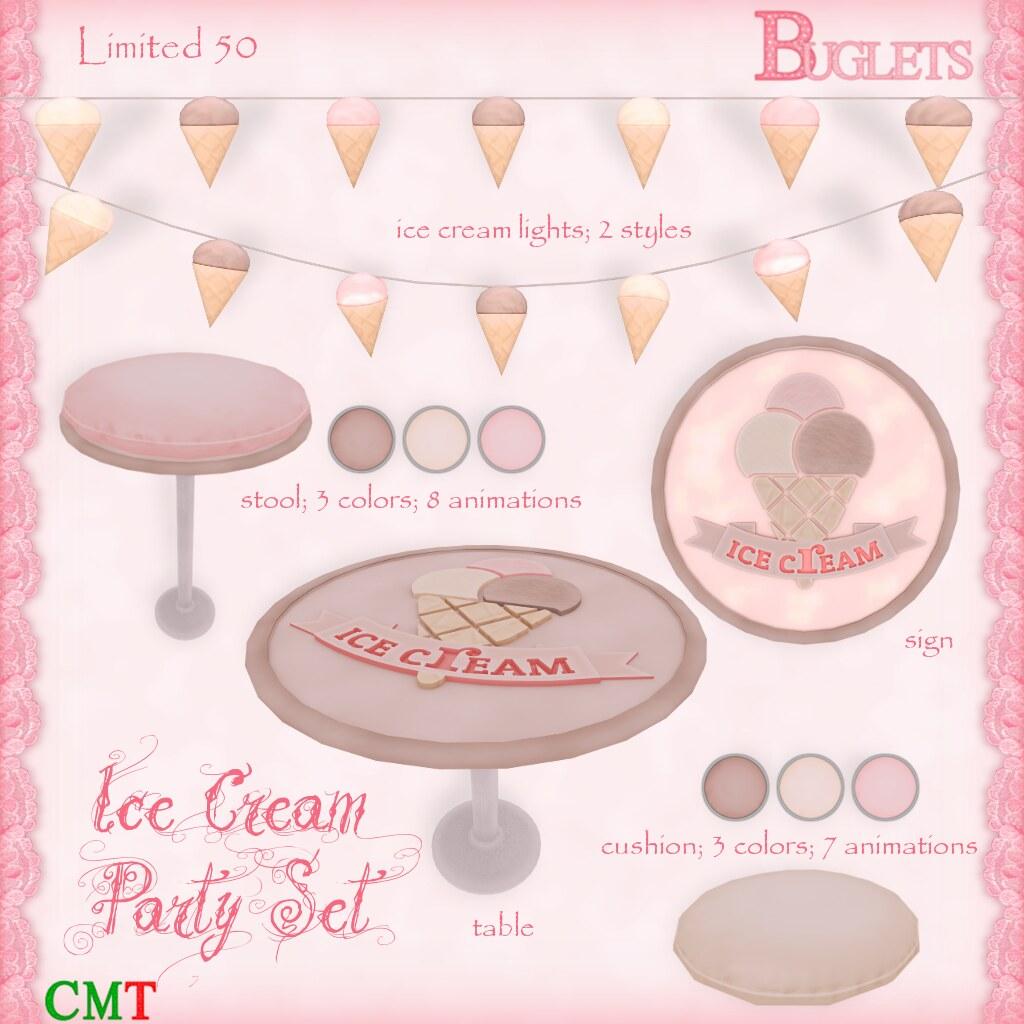 Ice Cream Party AD - SecondLifeHub.com