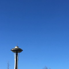 Finally some #bluesky in #seattle today! #nofilter and thankfully #no:umbrella:️