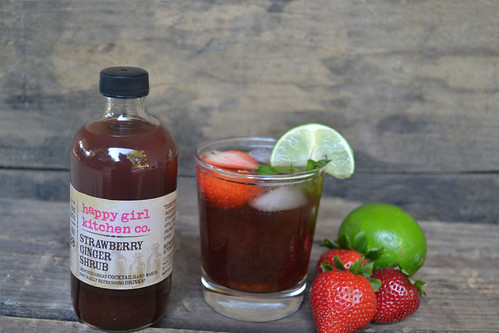 Strawberry-Ginger-Mule