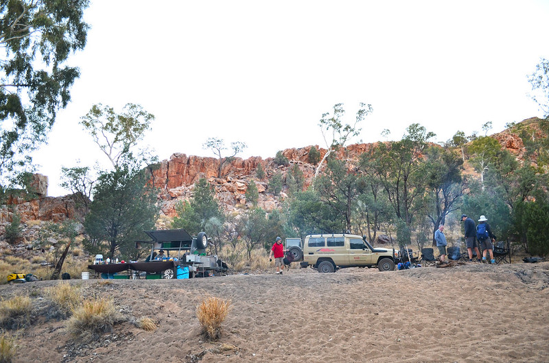 Birthday Waterhole camp - Larapinta Trail