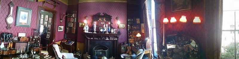 In The Study of Sherlock Holmes