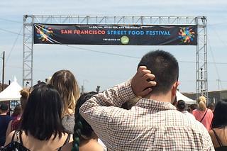 SF Street Food Festival - Entrance