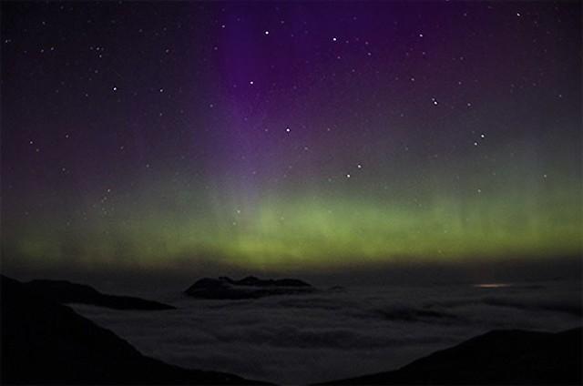 Aurora over An Teallach