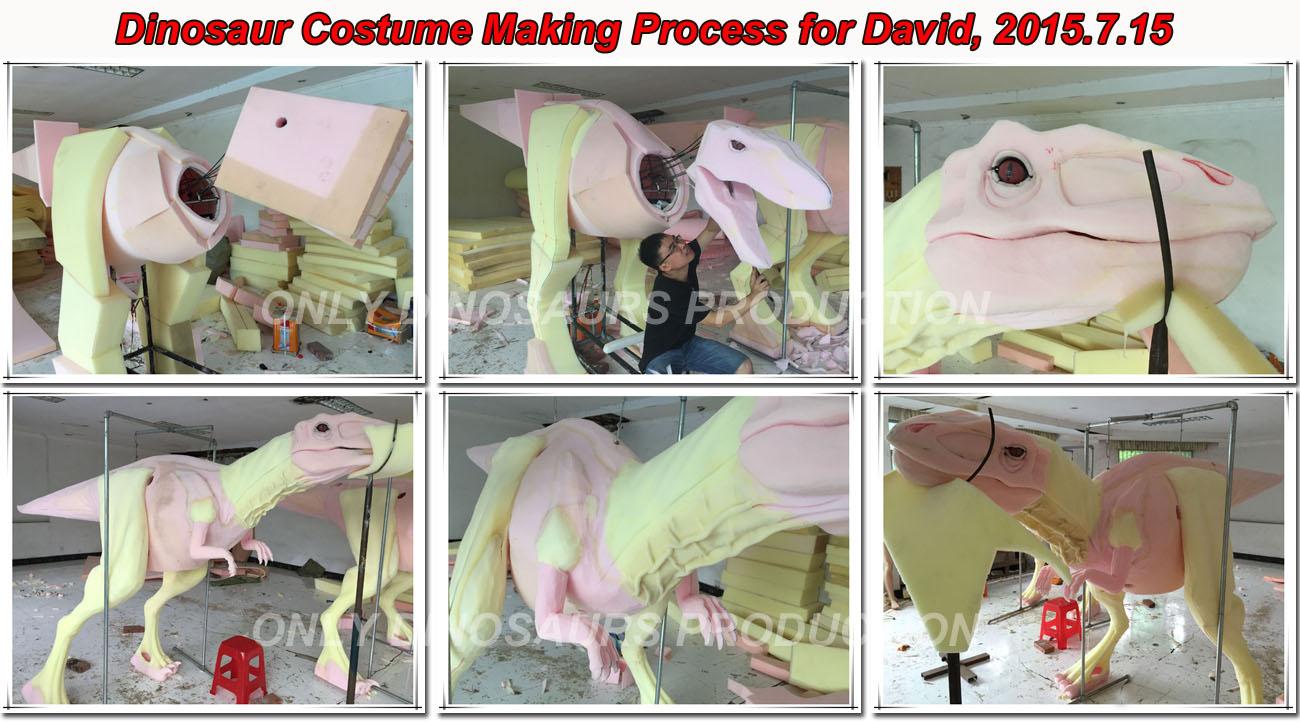 Dinosaur Costume Making Process-01