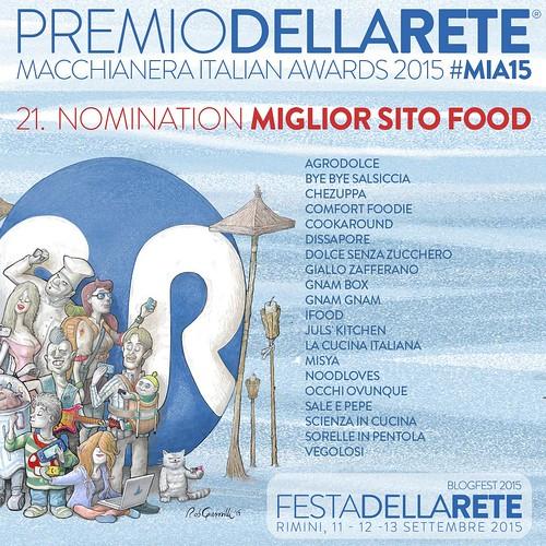 Noodloves - Macchianera Italian Awards 2015