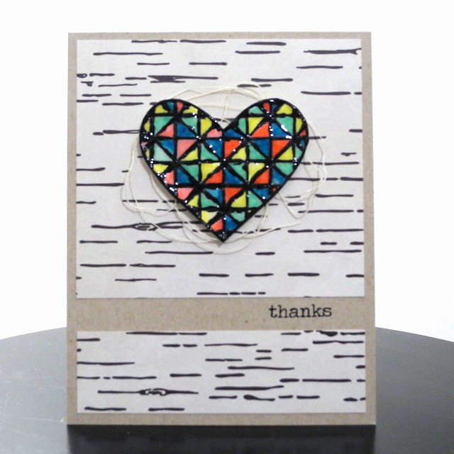 Thanks by Jennifer Ingle #JustJingle #SimonSaysStamp #Cards