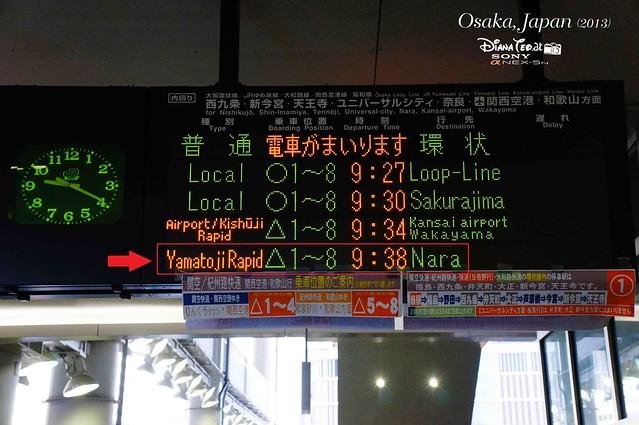 Japan 2013 - Day 02 Osaka to Nara 01