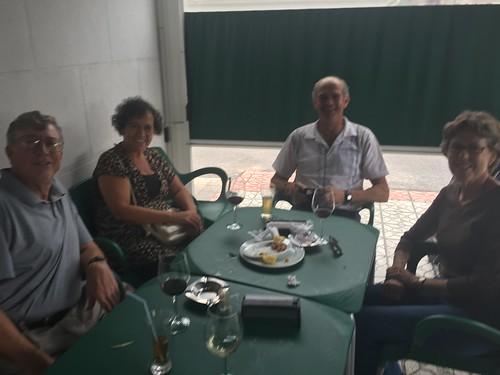 Paul, Betsy, Agustín and Elena