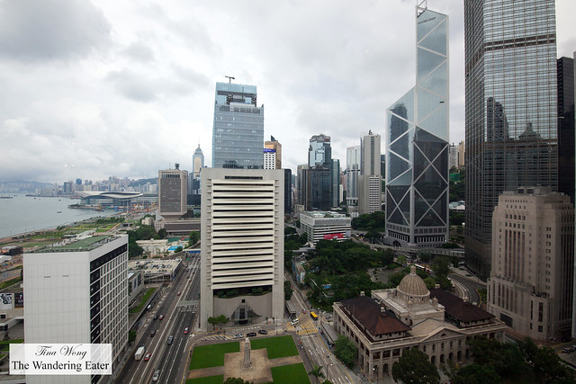 View of Central Hong Kong from M Bar