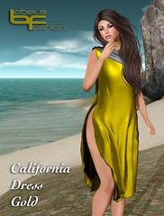 Babele :: California Dress Gold