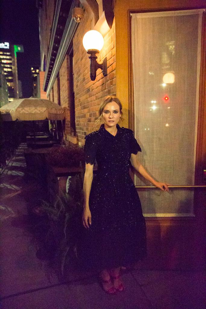 Диана Крюгер — Фотосессия для «The Coveteur» 2015 – 2
