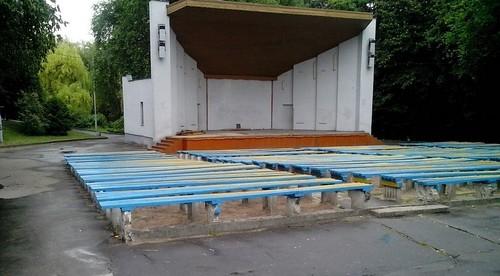 Якою буде літня естрада у парку?