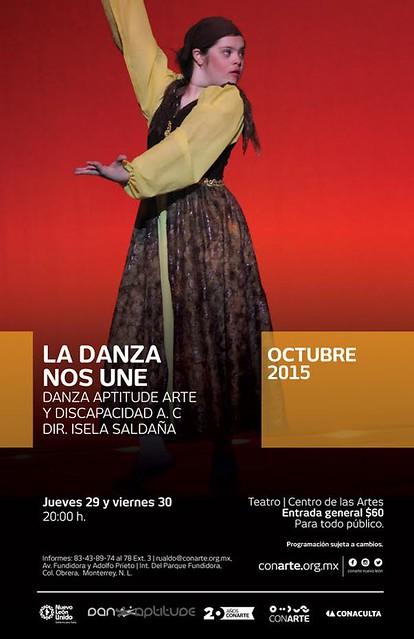 "Danza Aptitude presenta ""La Danza Nos Une"""