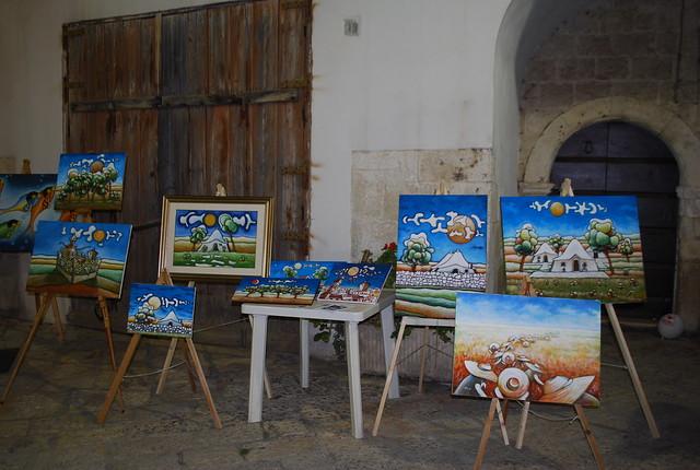 Rutigliano-L'arte condivisa in Cortile Castello (13)