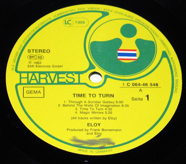 "Eloy Time to Turn 12"" Vinyl LP"