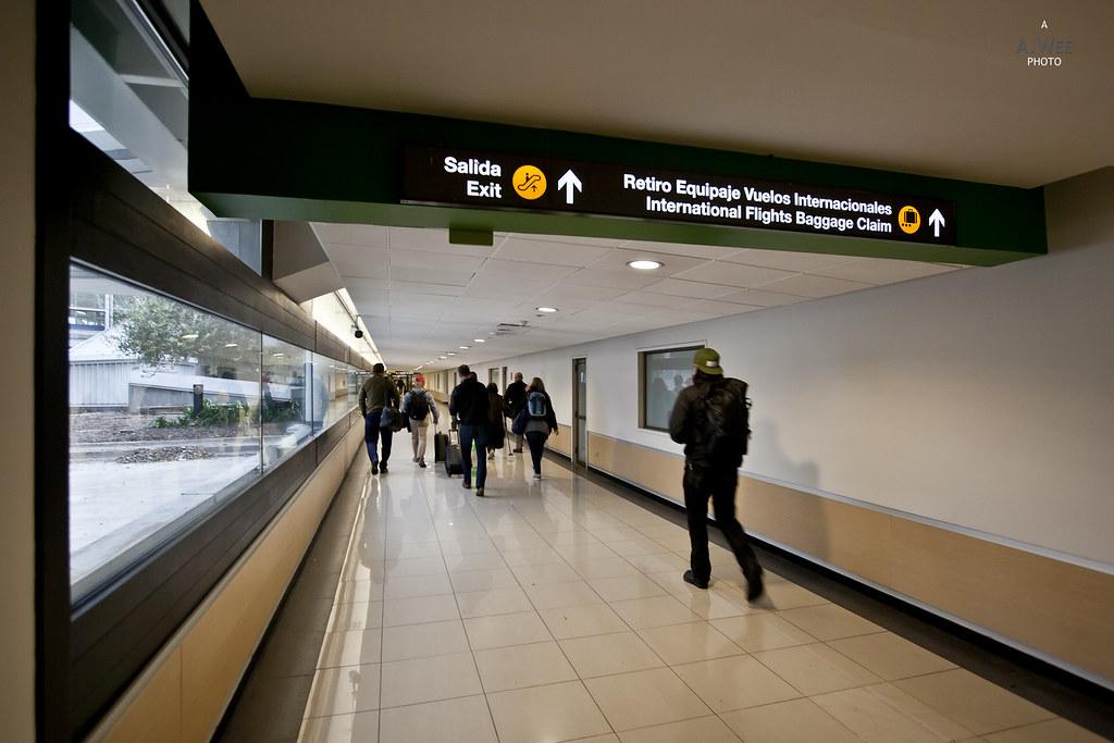 Arrival walkway
