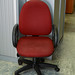 Swivel chair claret