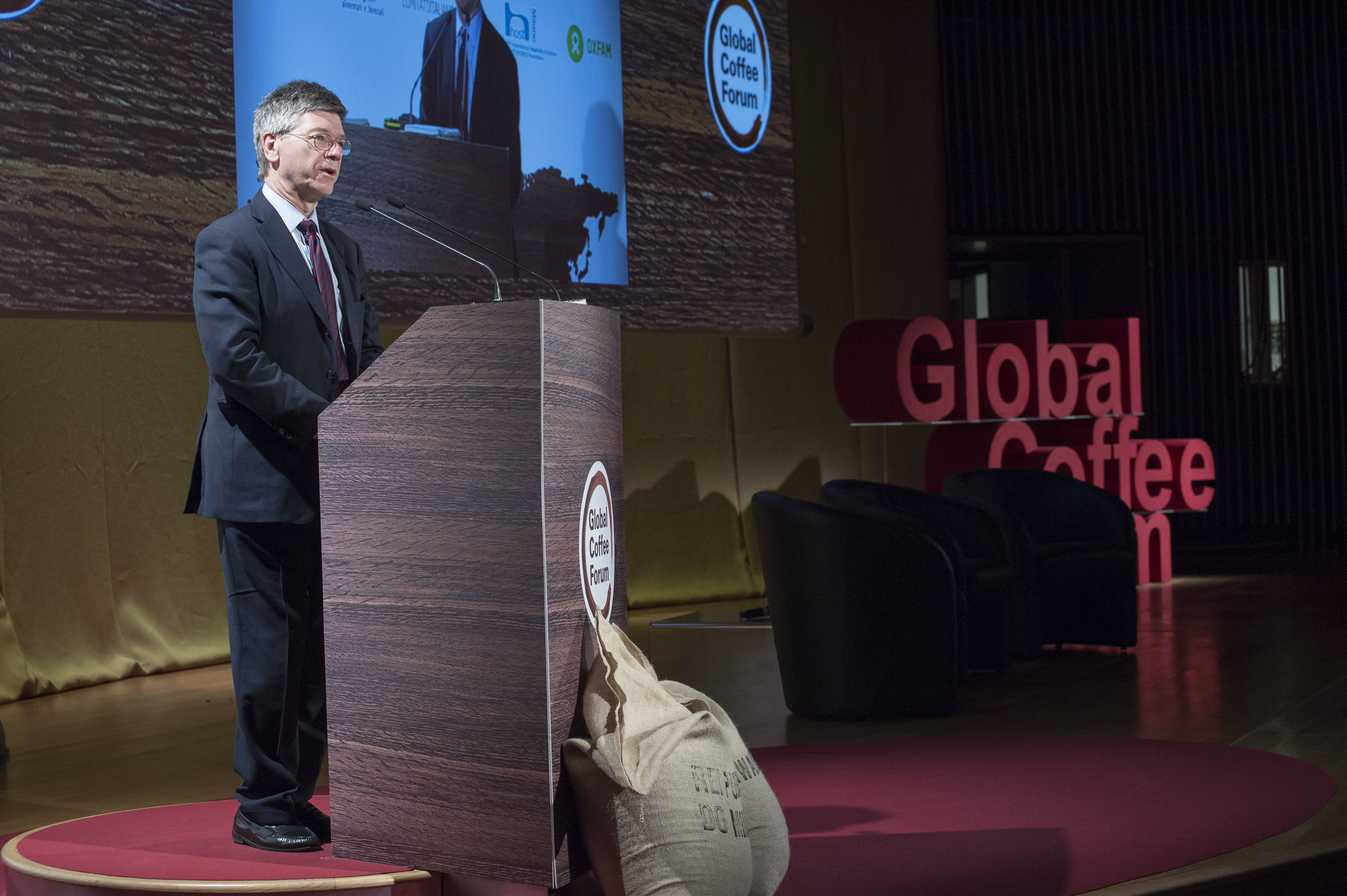 Jeffrey Sachs at Global Coffee Forum