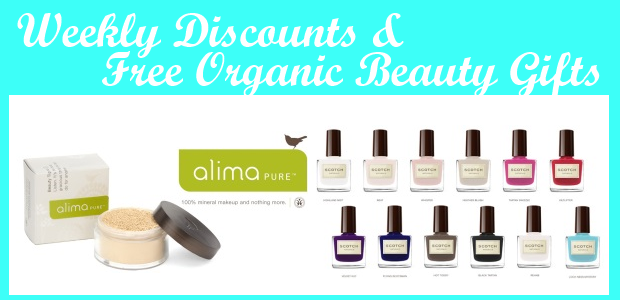 Weekly Discounts and Free Organic Beauty Gifts #40