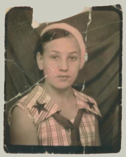 Wallet Worn Photobooth Portrait