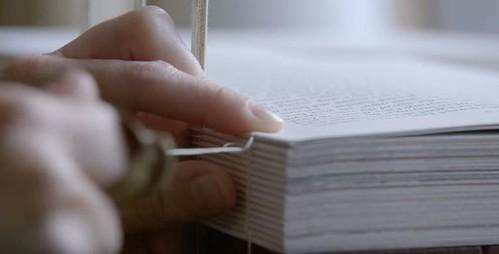 Bookbinding video 1