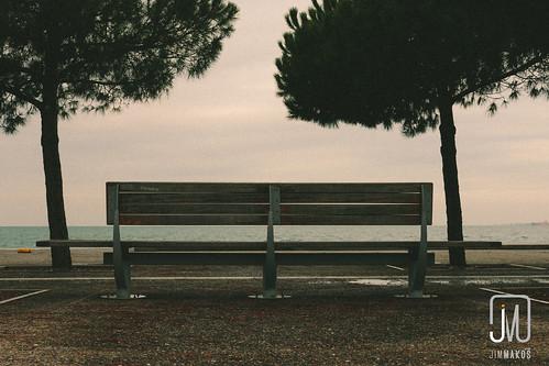 street city urban bench seaside waterfront view outdoor greece macedonia promenade thessaloniki gr seafront timeless thessaloníki makedonia μακεδονια makedoniathraki