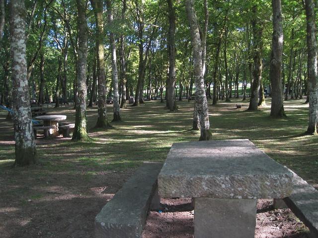 Área recreativa Campo de Santa Isabel - Outeiro de Rei