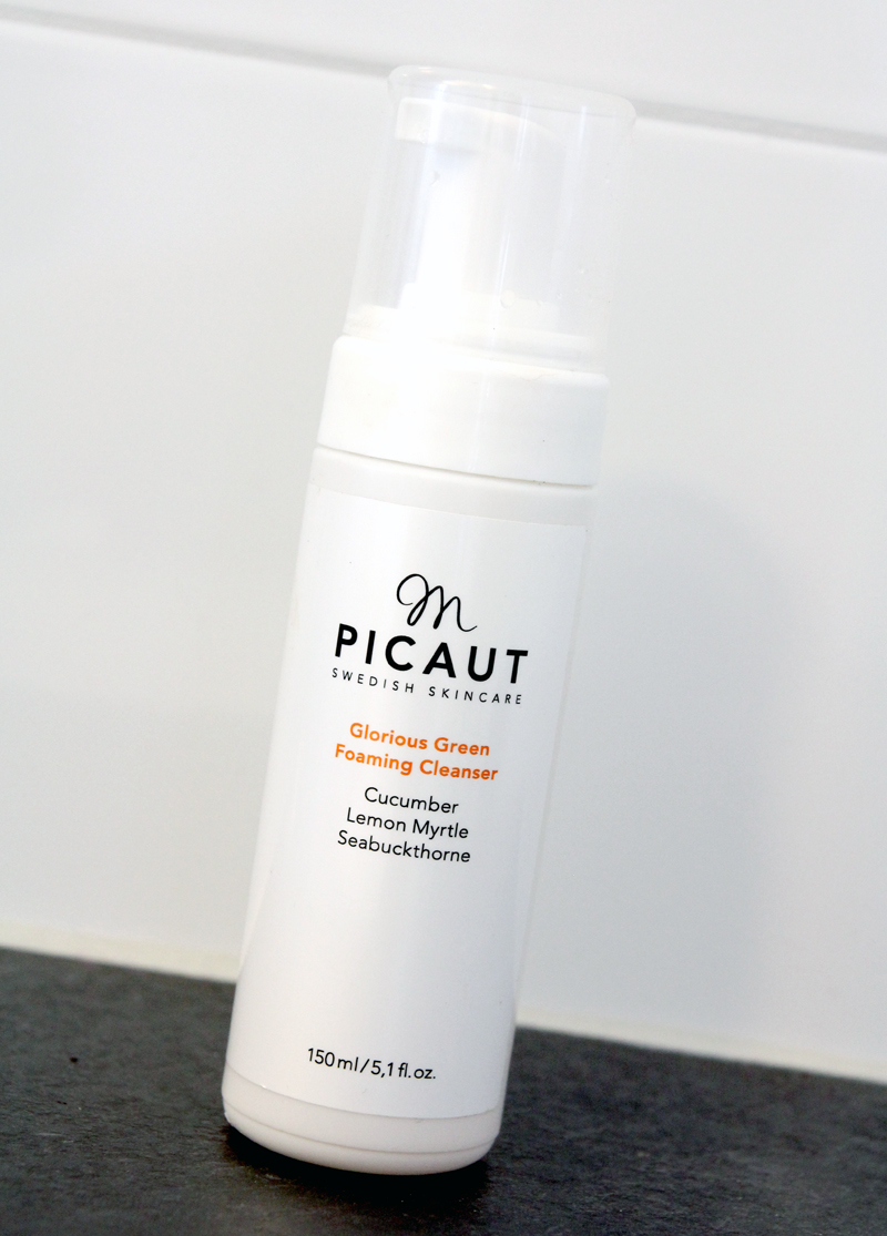 M picaut glorious green foaming cleanser