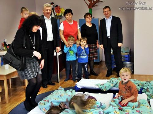 """Nakon gotovo četiri godine s radom počeo novoobnovljeni Dječji vrtić """"Radost"""" (foto)"""