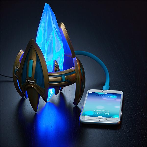 《星海爭霸2》神族水晶塔USB 充電器