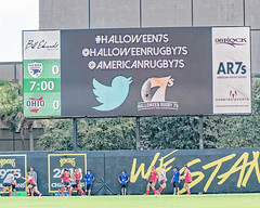 Branding for Halloween Rugby 7s, St. Petersburg, Florida