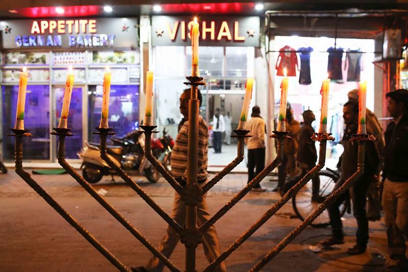 City Faith - Hanukkah Candles, Paharganj