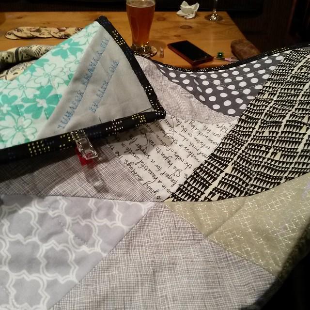 Yuma quilt binding