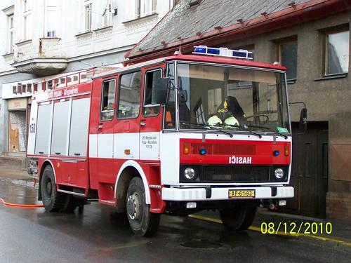 2010 - Zásah JSDH při povodních ve Frýdlantu