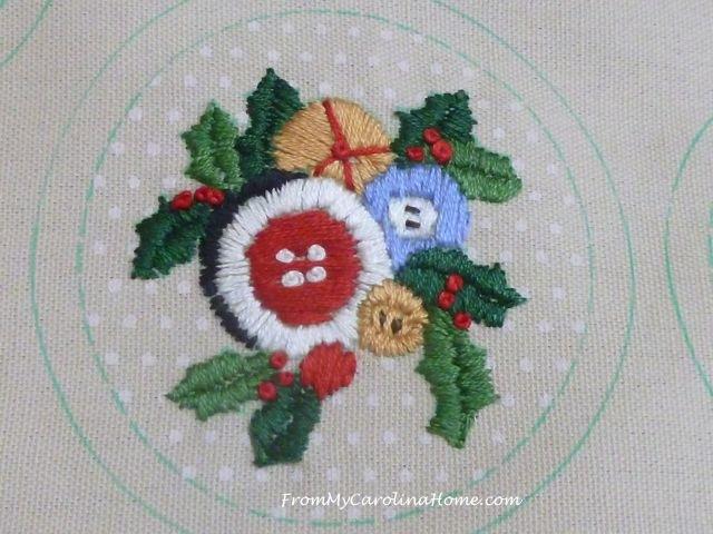 Stitching Ornaments Week 9 - 3