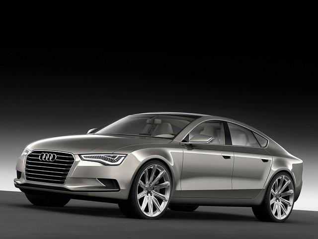 Audi A7 Sportback Concept. 2009 год