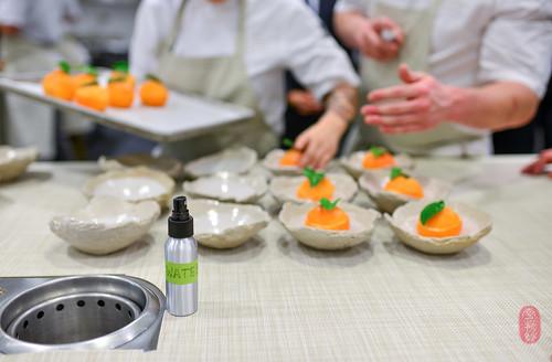 8th Course: Citrus Sherbet