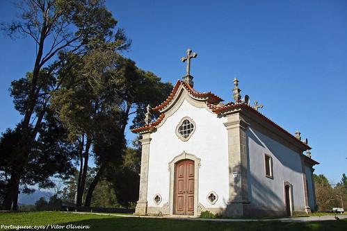Capela de Nossa Senhora dos Aflitos - Mosteiro de Fráguas - Portugal