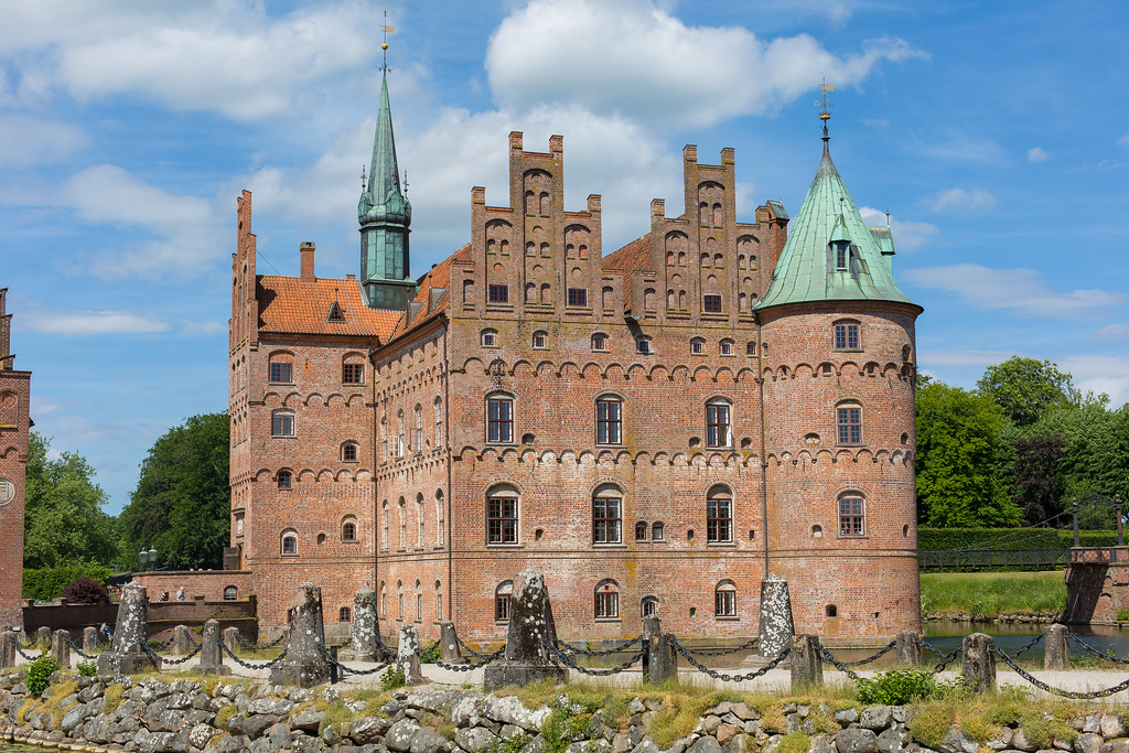 Denmark. Egeskov Slot