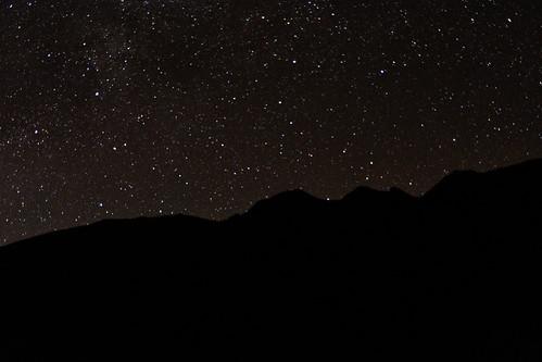 能高越嶺步道-繁星-天池山莊