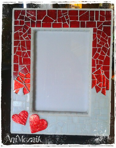 happy valentines day - Mosaic Picture Frames