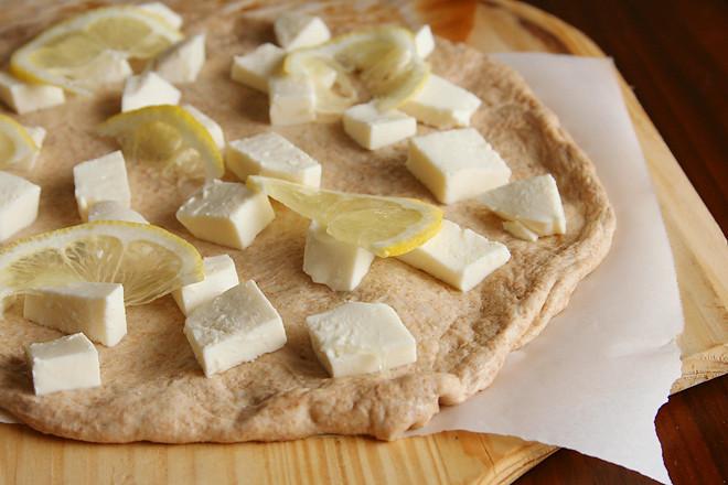 zucchini goat cheese pizza 2